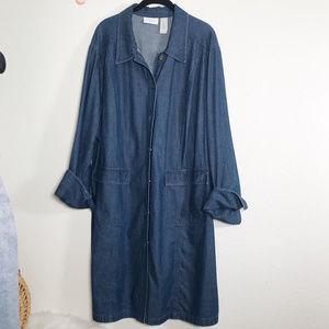 Liz Claiborne Size 3X  Vintage Jean Dress